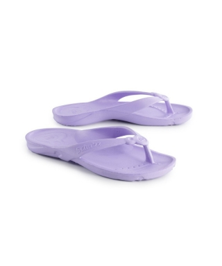 Tongs schuzz piscine, thalasso, thermes violet